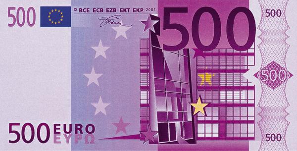 Как выглядит 500 евро коллекция автономеров