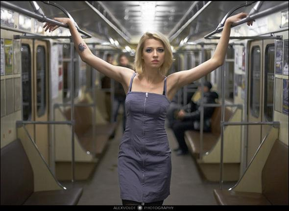 Full Version Of Erotic Photo Session In Minsk Metro  Euroradiofm-3961