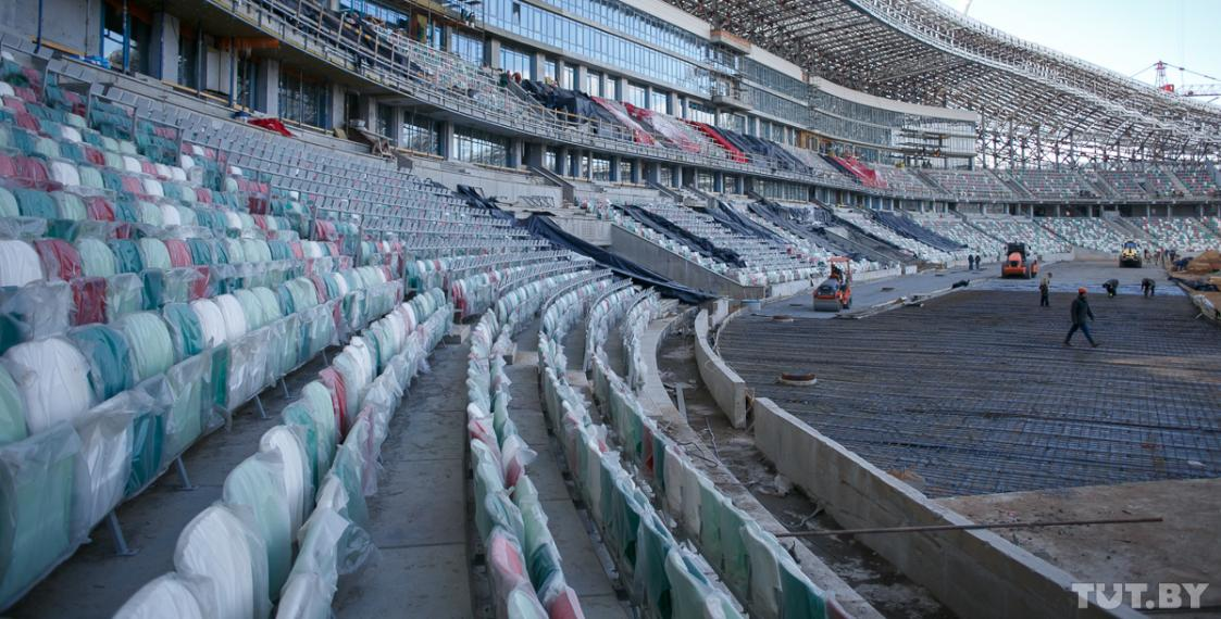 Dynamo Arena In Minsk Two Months Before Opening Photo Euroradio